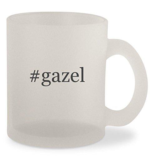 #gazel - Hashtag Frosted 10oz Glass Coffee Cup - Glasses Gazel