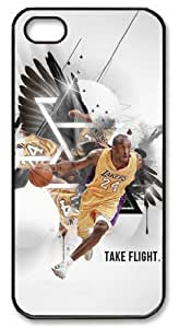 icasepersonalized Personalized Protective Case for iPhone 5 - Kobe Bryant, NBA Los Angeles Lakers