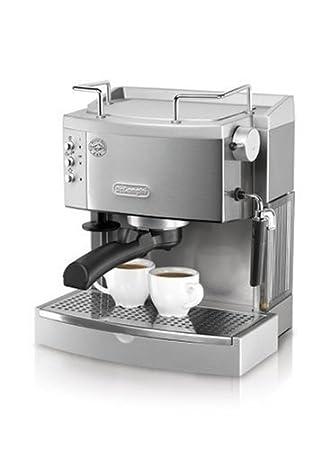 DeLonghi Espresso Coffee Maker, EC710 Máquina espresso 1.3L Plata - Cafetera (EC710, Máquina espresso, 1,3 L, Plata): Amazon.es: Hogar
