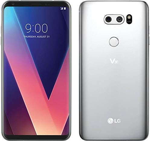 - LG - V30 64GB - Cloud Silver (Verizon) (Renewed)