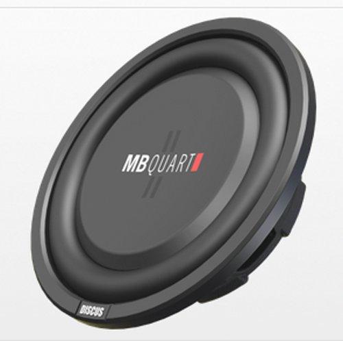MB Quart DS1-204 Discus Series 400-Watt Shallow Subwoofer ()