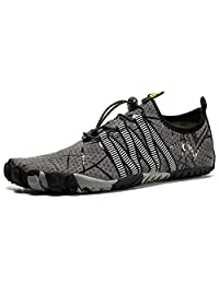 PROJIZZ Water Shoes for Men and Women Barefoot Quick-Dry Aqua Sock Outdoor Athletic Sport Shoes for Kayaking, Boating, Hiking, Surfing, Walking