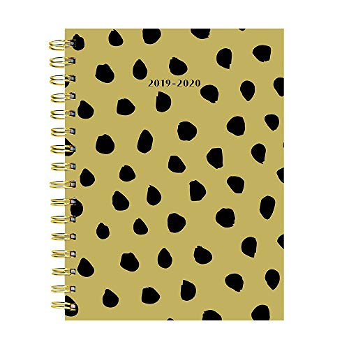 Black Polka Dots Medium Daily Weekly Monthly 2020 Planner: July 2019 - June 2020 (Academic School Year, Student ()