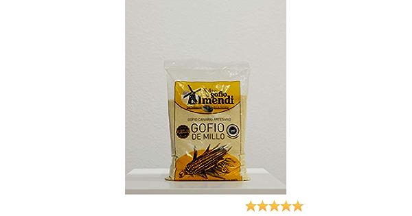 Gofio IMENDI Millo Sin Gluten 1 Kg. Producto Islas Canarias.