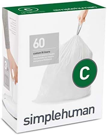 Trash Bags: Simplehuman code C