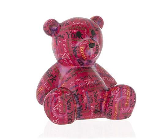 Cofre Bear Cerâmica Etna Pink