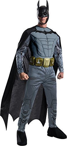 Rubie's Men's Batman Arkham City Deluxe Muscle Chest Batman, Multicolor, Large -
