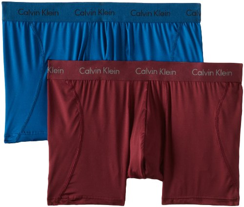 Calvin Klein Men's Two-Pack Microfiber Stretch Trunk