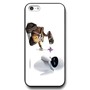 Disney Series Phone For Ipod Touch 5 Case Cover , Lovely Cartoon Waste Allocation Load Lifters-Earth For Ipod Touch 5 Case Cover , Only Fit For Ipod Touch 5 Case Cover (Black Hard Shell)