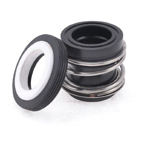 EbuyChX MB2-18 18mm Internal Dia Goma Bellows Coil Tubig Mechanical Seal ()