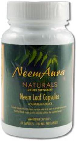 Neem Organic Capsules 60 CAP