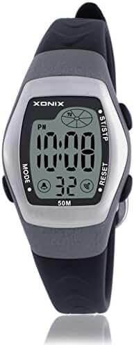 RetroLEDDigital multi-function watch/Waterproof swim girls digital watch-D