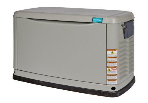 Siemens ASGE022RBA 22,000-watt Air-Cooled Liquid Propane or Natural Gas Powered Standby Generator with a Corrosion Resistant Aluminum Enclosure by Siemens (Image #1)