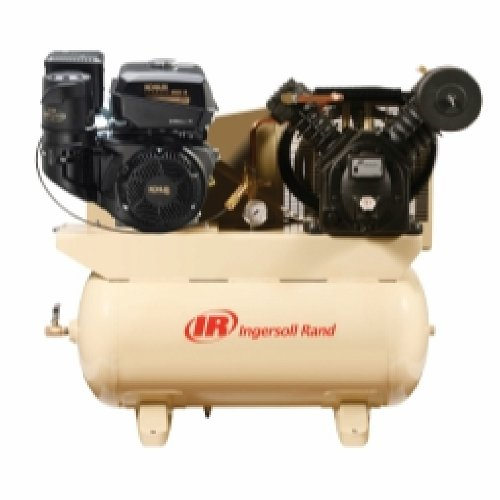 14 HP Gas Drive Air Compressor - Kohler Engine
