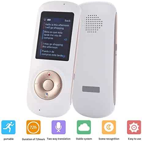 Voice Translator Smart Language Two Way WiFi 2.4inch IPS Capacitive Touch Screen Support Multi- Languages Freely Translation