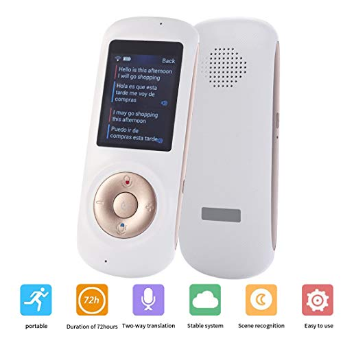 Voice Translator Smart Language Two Way WiFi 2 4inch IPS