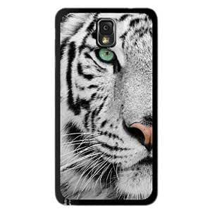 Note 3 Case,LYYF New Fashion and High Quality the White Tiger Hard Case/cover for Samsung Galaxy Note 3