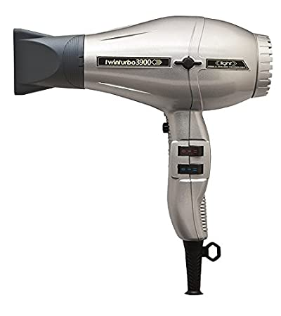 Turbo Power Twinturbo 3900 Ionic & Ceramic Technology 2200 Watt Professional Hair Dryer, Anti-