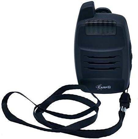 1 CarpON D/étecteur de Morsure Radio sans Fil kit /échangiste avec Fonction antivol Coffret de Transport 1 4 alarmes de Morsure de p/êche + 1 r/écepteur
