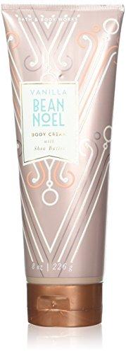 (Bath and Body Works Vanilla Bean Noel with Shea Body Cream 8 Ounces)