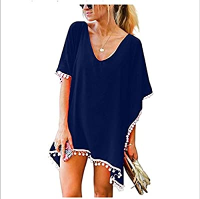 NFASHIONSO Women's Stylish Chiffon Beachwear Bikini Swimsuit Cover up