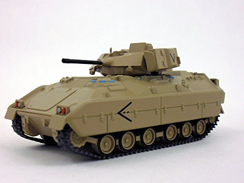 Army Fighting Vehicles - M2 Bradley Infantry Fighting Vehicle 1/72 Scale Die-cast Model