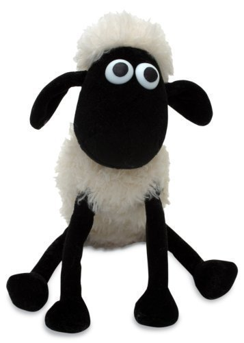 ovevo iconic Shaun the Sheep, stuffed toy, perfect gift (10 inches - 25 cm)