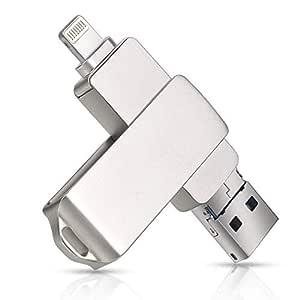 YRESD - Memoria USB para iPhone iOS, 3 en 1 (64.00GB)