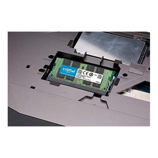Crucial 16GB Single DDR4 3200 MT/S (PC4-25600) CL22 DR X8 Unbuffered SODIMM 260-Pin Memory - CT16G4SFD832A 41PdDzbhLpL. SS555
