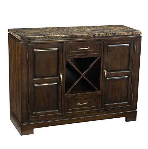- FurnitureMaxx Ella Faux Marble Top Server