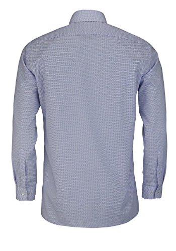 OLYMP Luxor modern fit Hemd extra langer Arm Muster lila AL 69