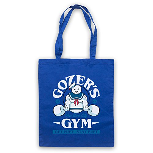 Ghostbusters Gozer's Gym Get Puft Stay Puft Bolso Azur Real