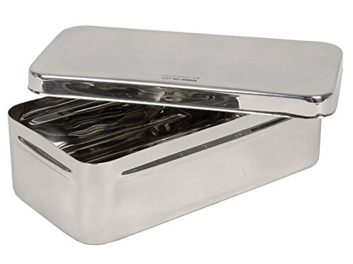 20 cm x 10 cm x 6 cm GIMA S.p.A 5868 Stainless Steel Box