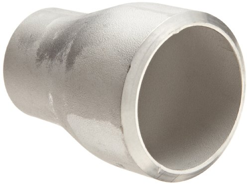 Stainless Steel 304/304L Butt-Weld Pipe Fitting, Concentric Reducer Coupling, Schedule 40, 1