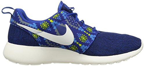 Nike Herren Roshe One Print Sport & Outdoorschuhe blau (Game Royal/Sail-Cl Grey-Pht Bl)