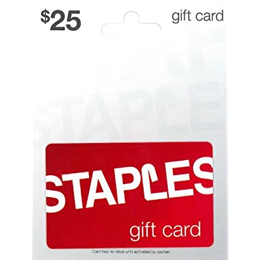 Staples Gift Card $25