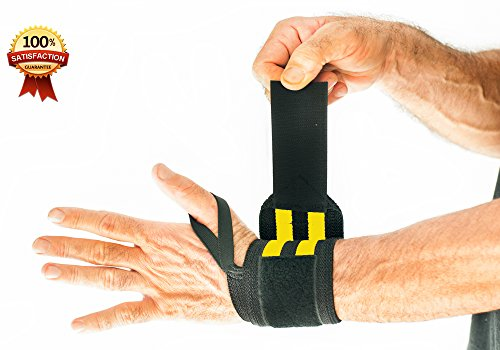 how to use weightlifting wrist straps