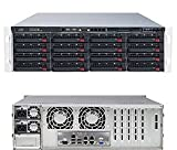 PC Hardware : SuperServer 6037R-E1R16N Barebone System - 3U Rack-mountable - Intel C602 Chipset - Socket R LGA-2011 - 2 x Total
