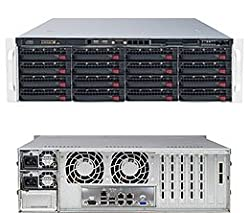 Supermicro SuperServer 6037R-E1R16L Barebone System - 3U Rack-mountable - Intel C602J Chipset - Socket R LGA-2011 - 2 x Processor SSG-6037R-E1R16L