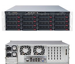 Supermicro SuperServer 6037R-E1R16N Barebone System - 3U Rack-mountable - Intel C602 Chipset - Socket R LGA-2011 - 2 x Processor SSG-6037R-E1R16N