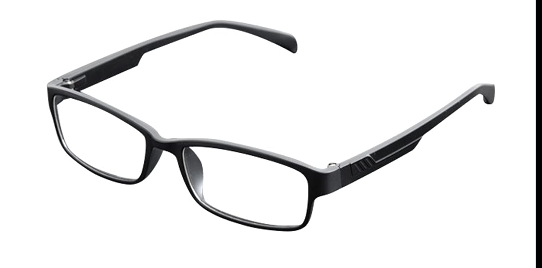 De Ding Womens Men's Eye Glasses Optical Frames Matt Black