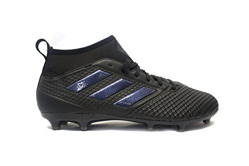 adidas Mens Ace 17.3 FG Soccer Cleats (8, Core Black/Core Black/Utility Black) (Cleats Soccer Adidas F30)