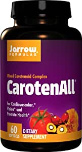 Jarrow Formulas CarotenALL, For Cardiovascular, Vision and Prostate Health, 60 Softgels