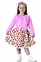 California Costumes 50s Sweetheart Toddler Costume-