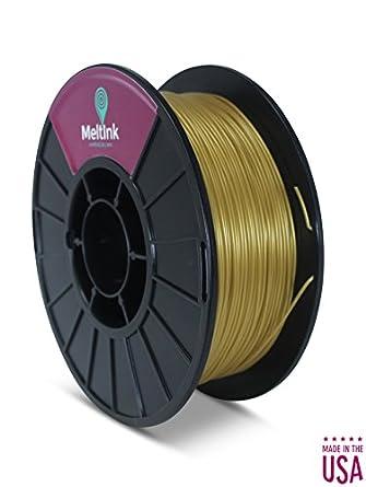 meltink3d pha-1 K285gld05 oro Pla/PHA 3d impresora filamento ...