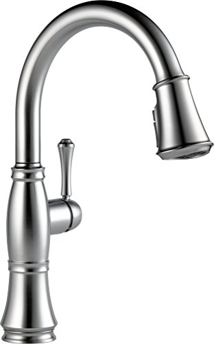 Delta Brushed Nickel Pull Down Faucet Pull Down Brushed