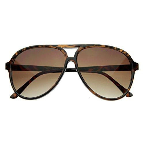 MLC EYEWEAR Tortoise Classic Plastic Racer Aviator - Sunglasses Hangover