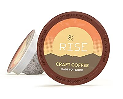 Rise C-Pods, Single Serve Coffee by Greater Goods