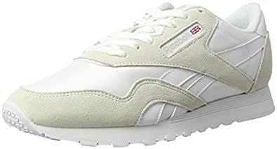 Reebok Men's Classic Sneaker, White/Light Grey, 9.5M