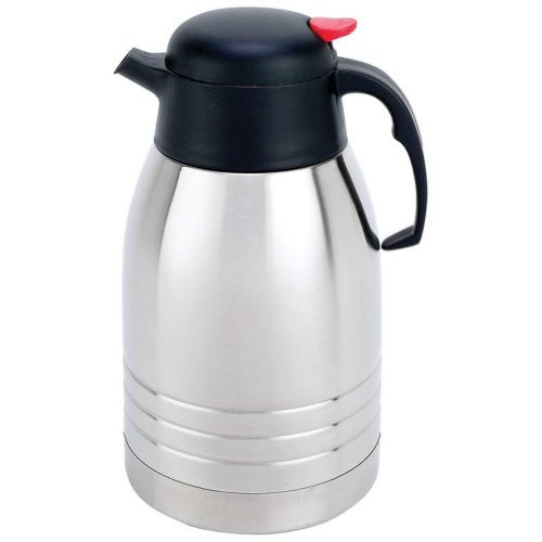 Maxam KTVCCFPT Stainless Steel Vacuum Coffee Pot, 2 quart by Maxam